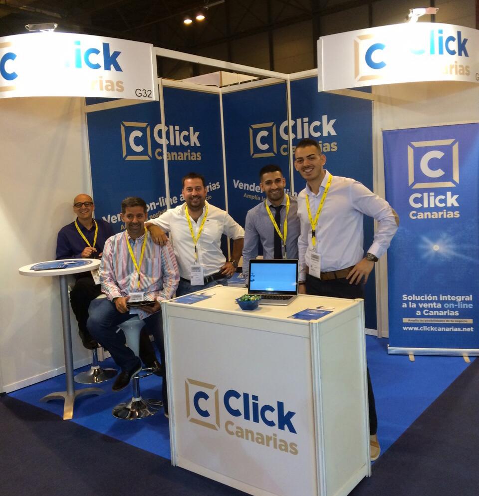 Equipo ClickCanarias en eCOMExpo