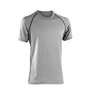 camiseta deportiva hombre gris