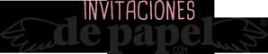 Logo Invitaciones de papel