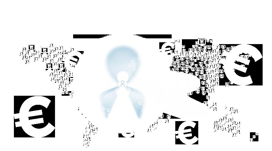 Mapamundi comercio electrónico
